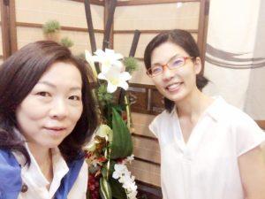 四季を通してお客様を癒すサロンの花